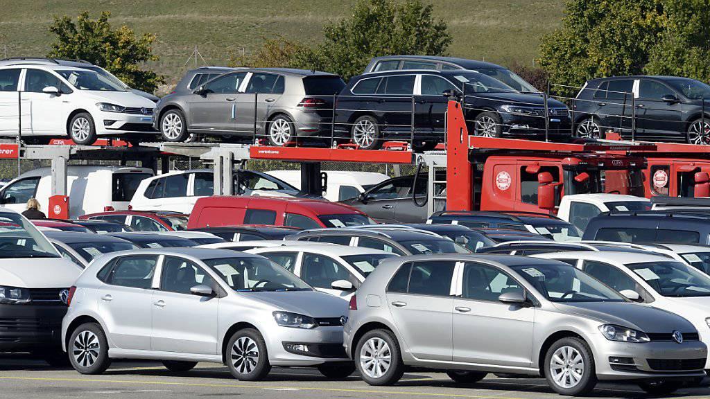 Autos aus den VW-Fabriken waren im ersten Halbjahr gefragt. (Archiv).