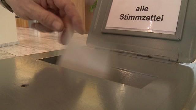 Aargau und Solothurn: Viele haben schon abgestimmt
