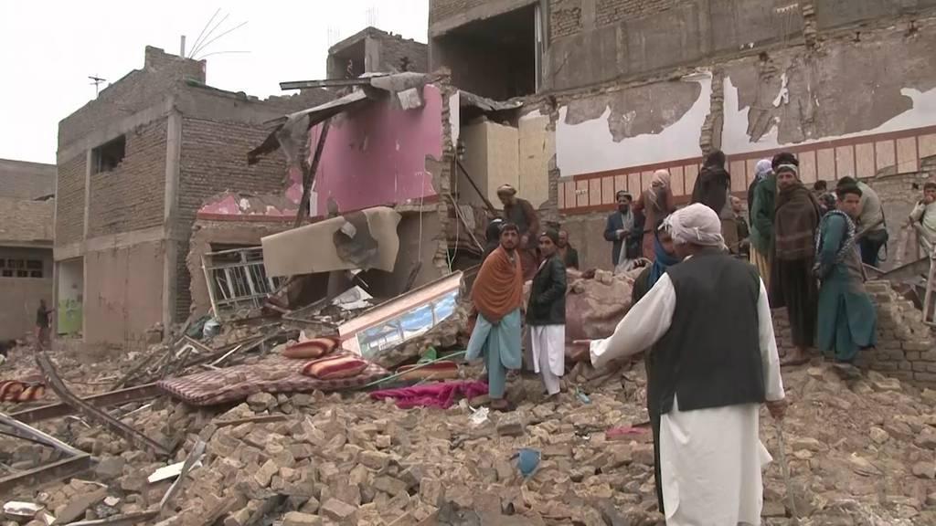 Afghanistan: Mindestens 8 Tote und 54 Verletzte bei Bombenanschlag
