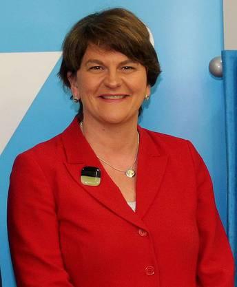 Die nordirische DUP-Vorsitzende ist gegen den Deal. Es gilt aber nicht als unmöglich, dass sich Foster und ihre Parteifreunde mit einer Geldspritze umstimmen lassen.