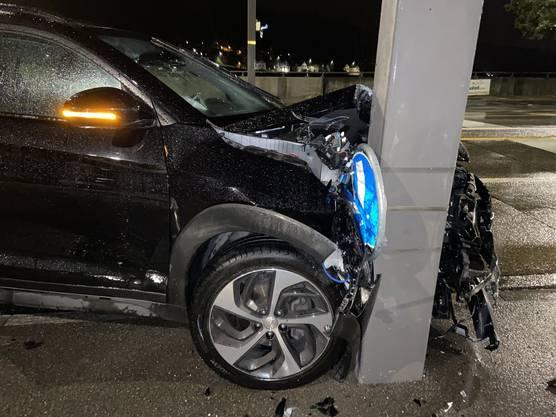 Der 33-jährige Mann blieb unverletzt.