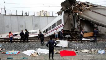 Schweres Zugsunglück im Nordwesten Spaniens