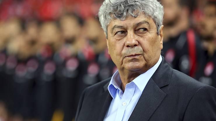 Mircea Lucescu zog sich nach nur vier Tagen als Trainer von Dynamo Kiew bereits wieder zurück