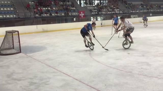 Die Schweiz spielt an der Einrad-Hockey-WM in der Vorrunde
