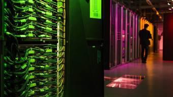 Ein Supercomputer an der EPFL Lausanne (Symbolbild)