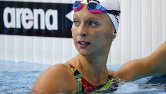 Maria Ugolkova erreichte an den Langbahn-EM in London auch über 200 m Lagen die Halbfinals