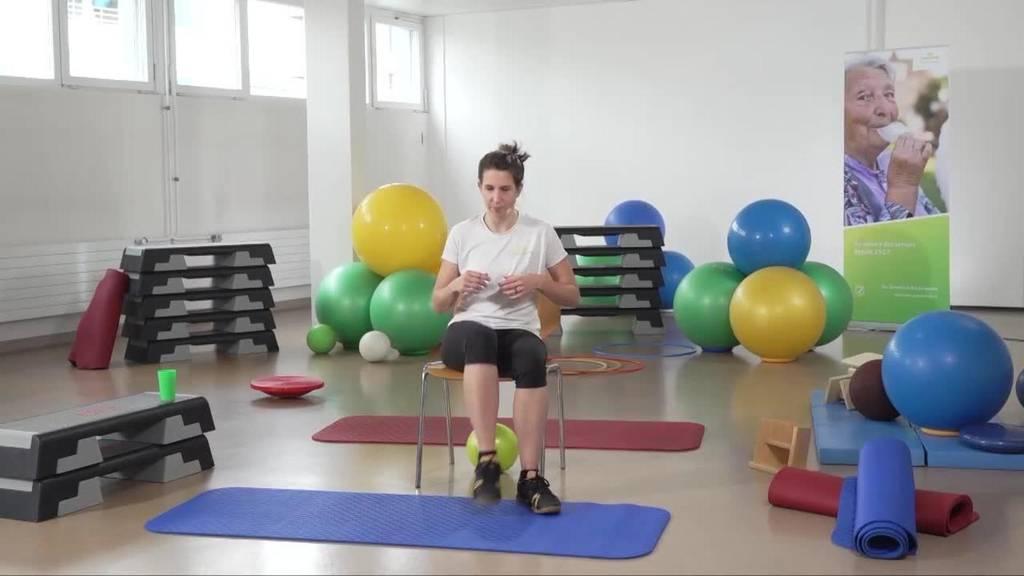 «Gymnastik im Wohnzimmer» vom 2. August 2021