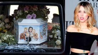 Peaches Geldof wird beerdigt