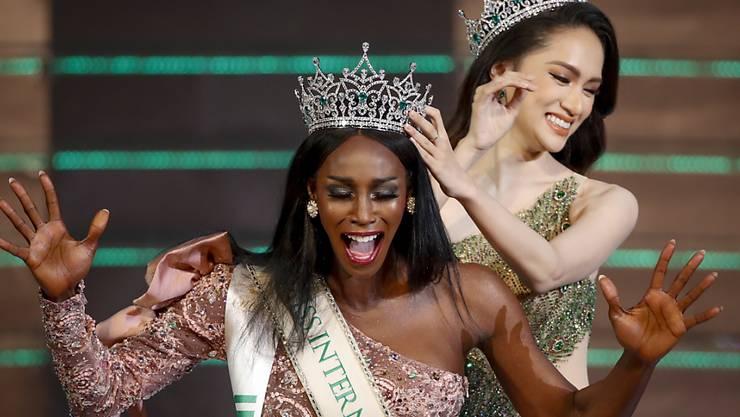 Nomen est Omen: Mit Jazell Barbie Royale hat erstmals eine schwarze Kandidatin den Titel als schönste Transgender-Frau der Welt geholt.
