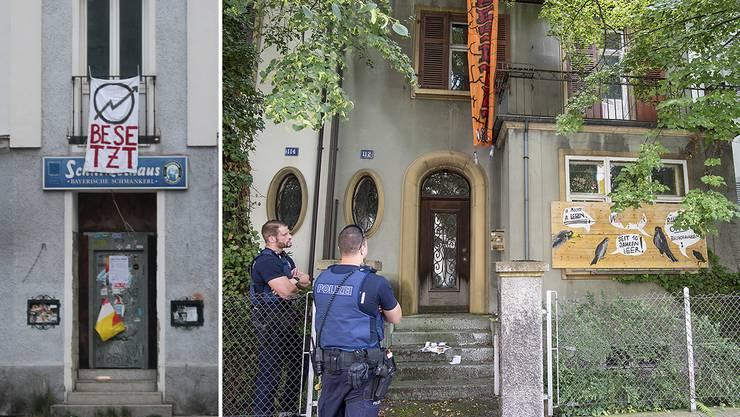 Das Münchner Vorbild und die Basler Kopie: Scheinbesetzungen sind der neuste Bluff der linksautonomen Szene.
