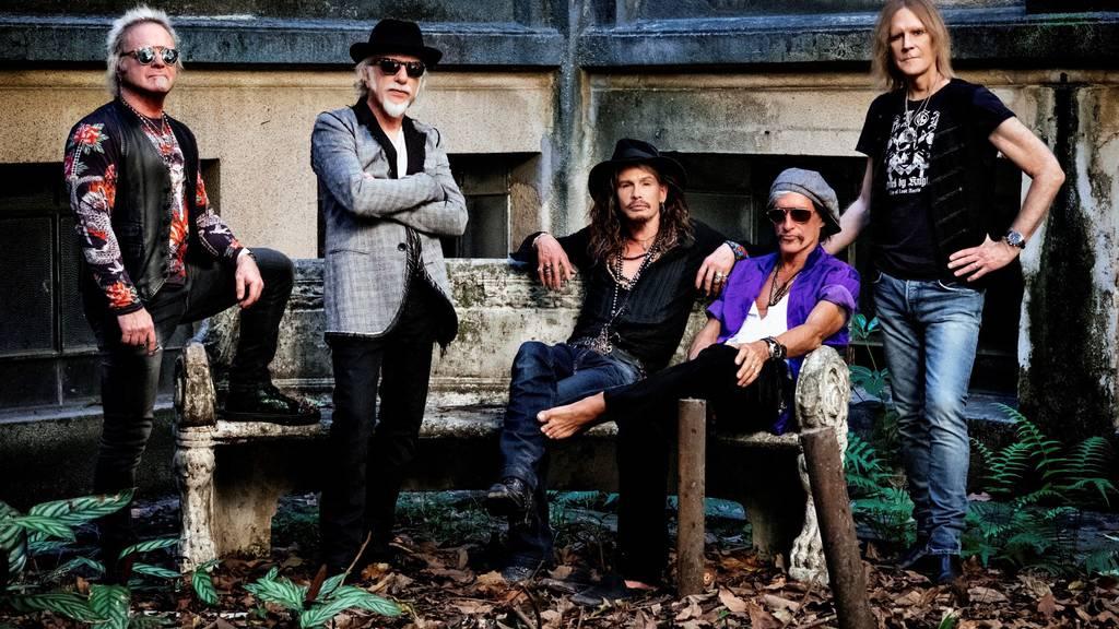 Aerosmith auf Europatour auch in Zürich