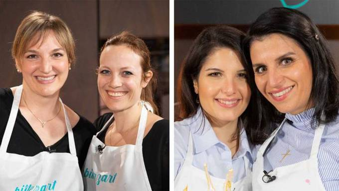 Miriam & Betul gegen Sandra & Veronika