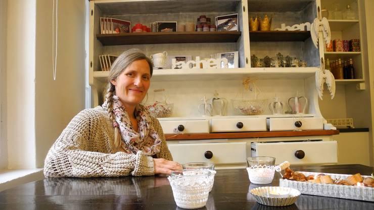 Ein alter Traum wird wahr: Cornelia Spitznagel eröffnet ein Café, das zugleich ein Ort der Integration, Begegnung und Verwöhnung sein soll.