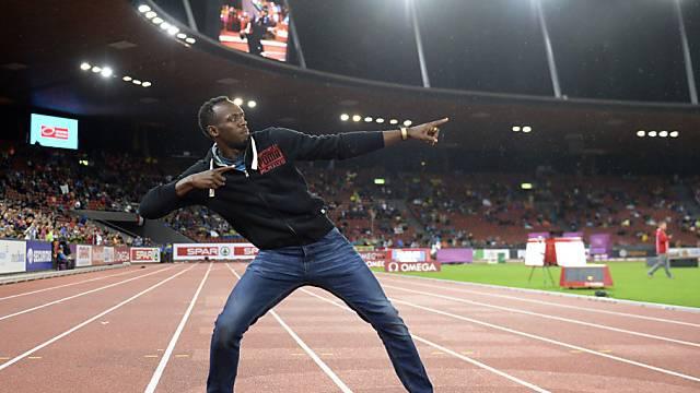 Usain Bolt macht Zürich seine Aufwartung