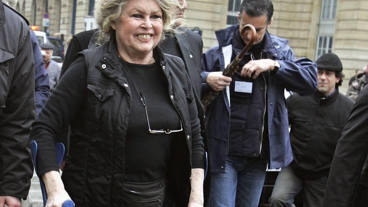 Sie weiss nicht mehr, wem sie glauben soll, ausser sich selbst und dem Front National: Brigitte Bardot. (Archivbild)
