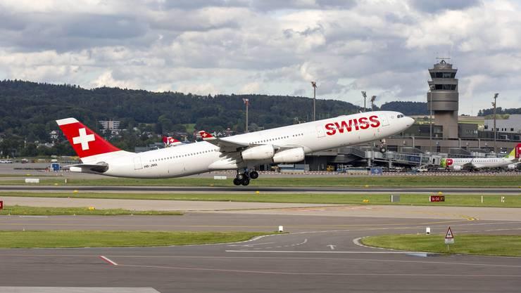 Will bald wieder deutlich öfter abheben: Die Schweizer Fluggesellschaft Swiss baut ihr Flugangebot nach Corona weiter aus.