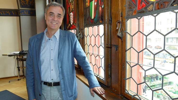 Guy Morin würde sich über eine Aufnahme der Basler Fansnacht ins Kulturerbe der UNESCO freuen. (Archiv)