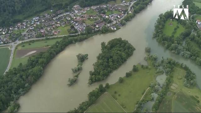 Weiterhin angespannte Hochwassersituation