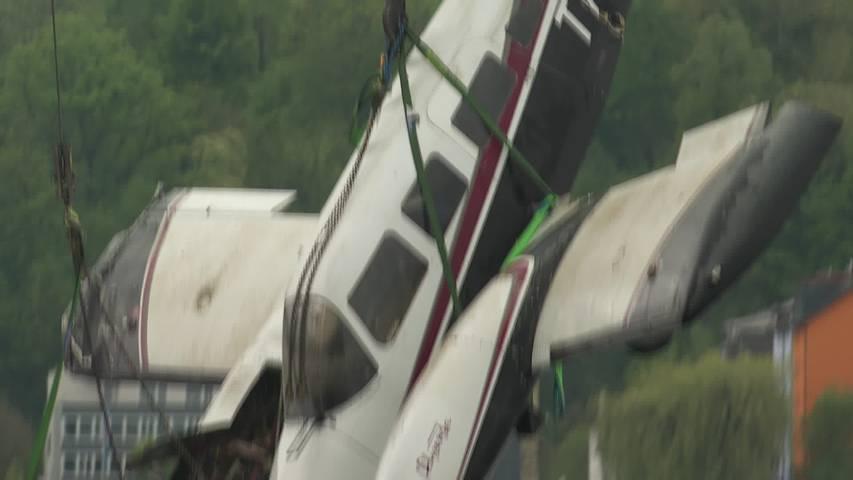 3 Monate nach Absturz: Flugzeug-Bergung aus dem Bodensee