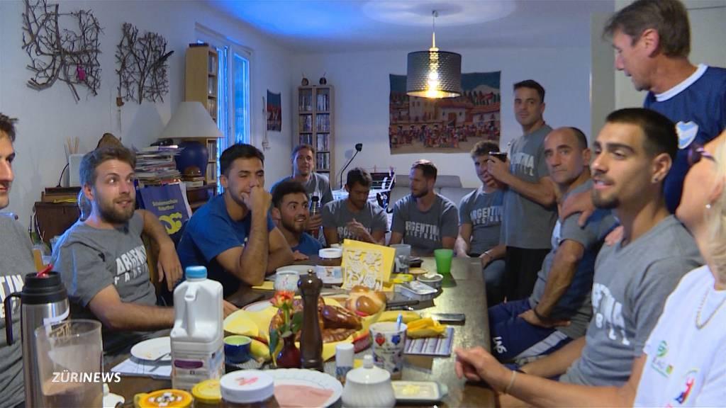 Hotel zu teuer: Argentinische Faustball-Nati wohnt im Reihenhaus