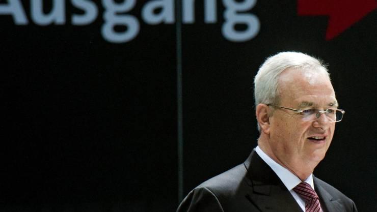 Steuermann geht von Bord: VW-Chef Martin Winterkorn nimmt den Hut. (Archiv)