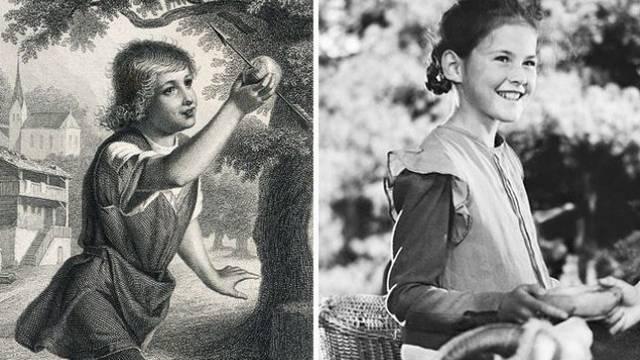 Walter Tell und Heidi sind die berühmtesten Kinder der Schweizer Geschichte. Bilder: HO, SRF/Atlantic Film S.A.
