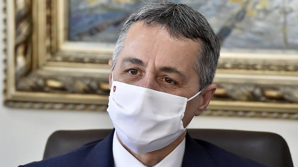 Die Schweiz hat gemäss Aussenminister Ignazio Cassis Indien angeboten, Hilfsmaterial zur Bewältigung des wegen der Corona-Patienten überlasteten Gesundheitssystems zu schicken. (Archivbild)