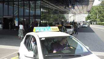 Einsteigertaxis bei der Messe. Nur diese hätten teilweise Qualitätsprobleme, sagt der Nutzfahrzeugverband Astag.