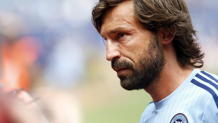 Zum Leidwesen vieler italienischen Fans an der EM in Frankreich nicht dabei: Andrea Pirlo (hier im Dress des New York City FC)
