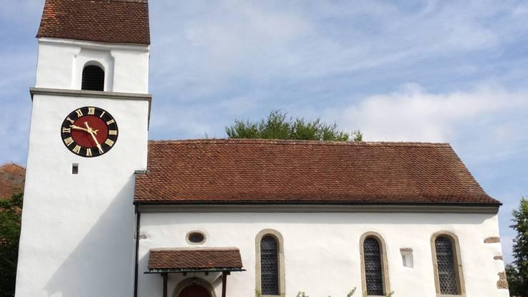 Renovierte Kirche Egliswil