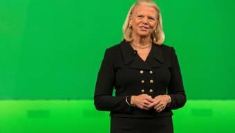 Rückgang beim IBM-Umsatz gebremst: CEO Ginni Rometty (Archivbild)