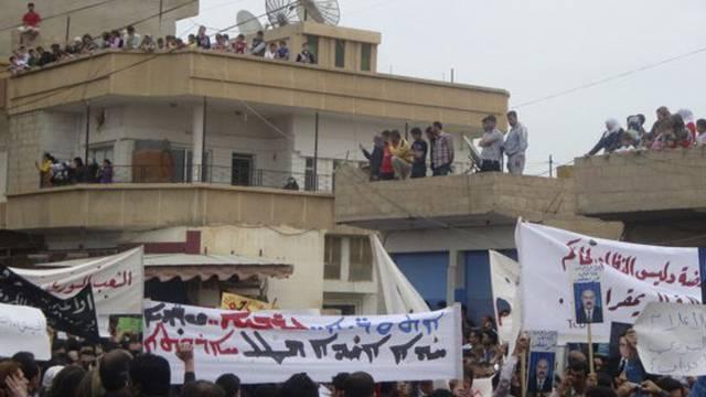 Proteste in Syrien (Archiv)