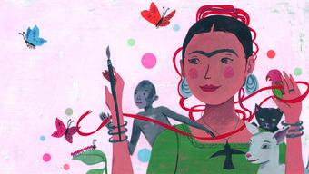 Frida Kahlo und ihre Tiere» – ein Roman für kreative Kids.