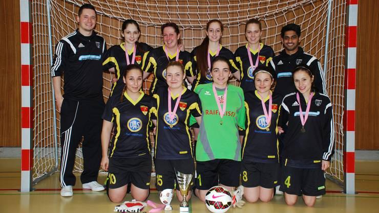 In Form: Die Fussballerinnen vom FC Lausen.