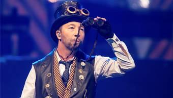 DJ Bobo: Trotz mässigen Albumverkäufen ist er immer noch der erfolgreichste Schweizer Musiker in Deutschland. Live ist er eine Macht.