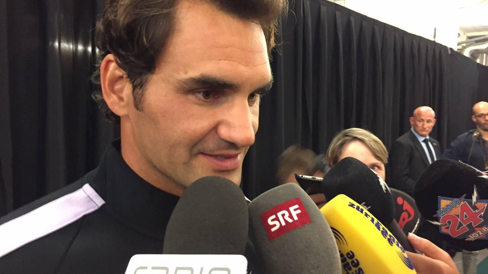 Roger Federer steht in Wimbledon im Halbfinal