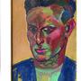 «Selbstporträt» Walter Eglin, Ölmalerei, Privatbesitz.