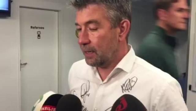 FCB-Trainer Urs Fischer zur letzten Niederlage der Saison