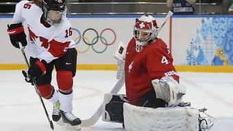Kanada biss sich an Goalie Schelling wiederholt die Zähne aus