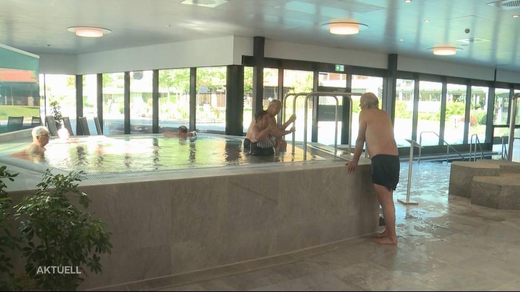 Wieder offen: Endlich wieder Badespass im Thermalbad