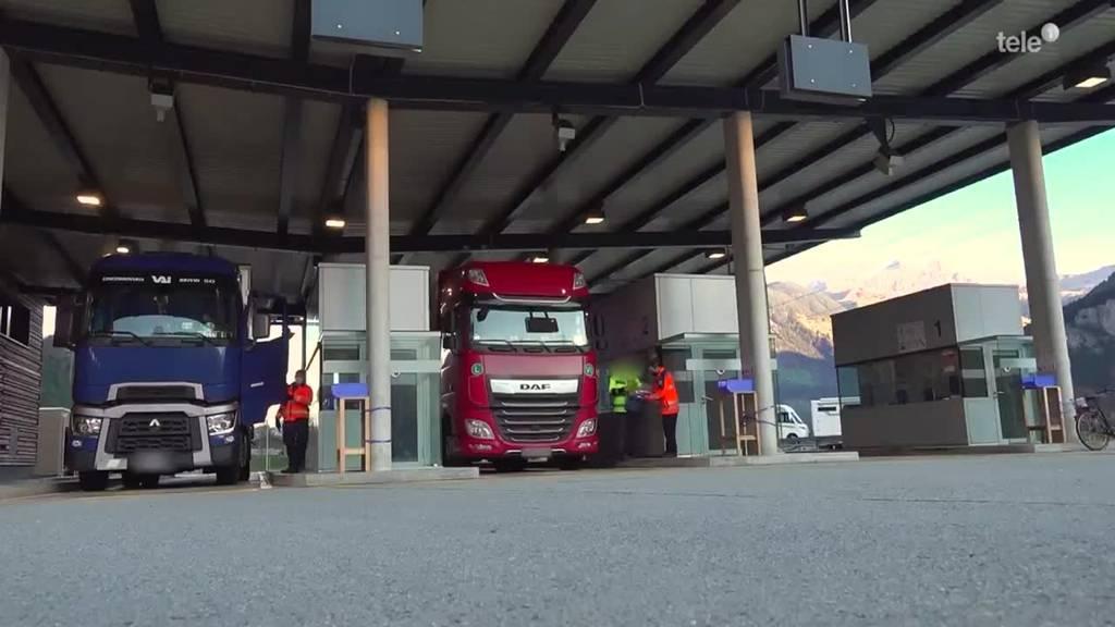 «Durch den Gotthardtunnel lassen wir nur einwandfreie LKWs»
