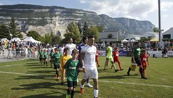 Die Spieler des FC Thun schreiten im Cup zur Tat - und erledigen die Pflicht souverän
