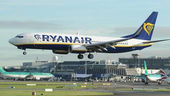Ryanairs Wachstumspläne von Flugverbot für 737 Max beeinträchtigt (Archivbild)