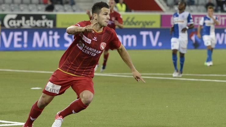 Beim FC Thun erhält Steffen seinen ersten Profivertrag