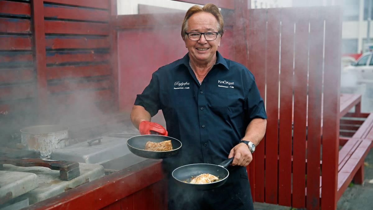 Ole kocht auf Dampf