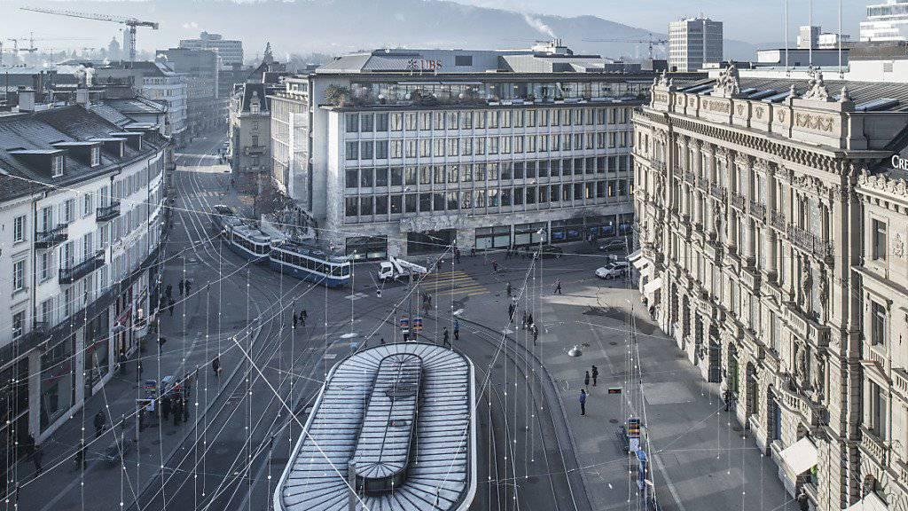 Die Berufsaussichten in der Schweizer Finanzbranche verschlechtern sich. (Symbolbild)