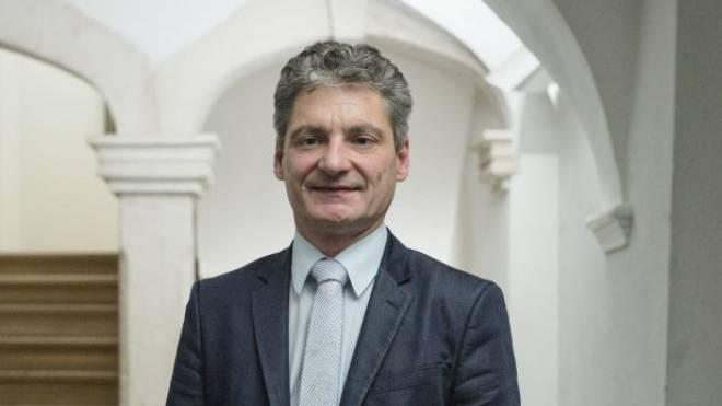Stadtpräsident Alexander Imhof von Laufen, CVP, und Beschwerdeführer