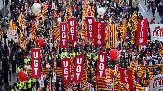 Protest gegen die Wirtschaftskrise