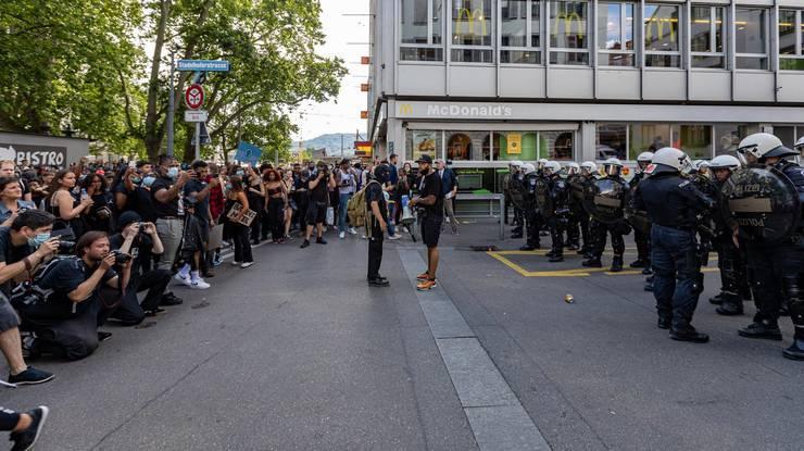 Die «Black Lives Matter»-Demonstration brachte am 13. Juni über 10'000 Menschen auf die Strassen.
