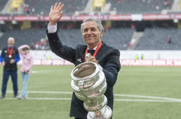 FCB-Trainer Marcel Koller sitzt trotz Cupsieg alles andere als sicher im Sattel.